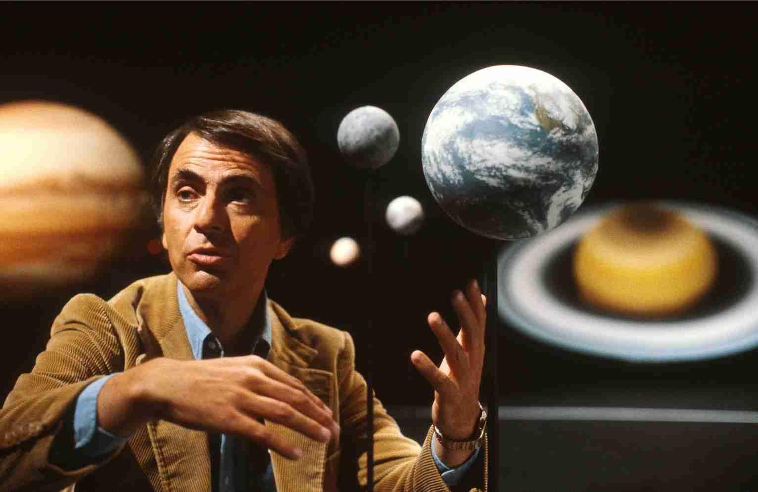 Carl Sagan - como escolher o tema para seu projeto